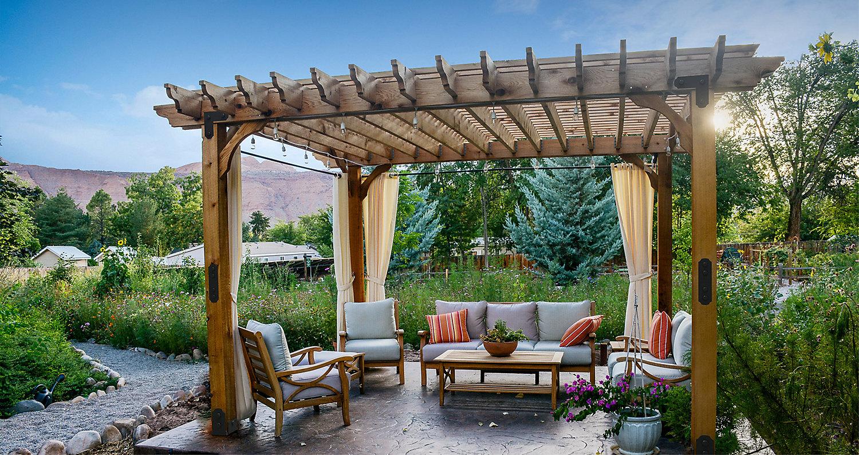 pergola - outdoor decorative hardware