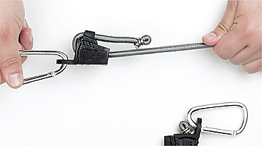 Locking bungee cord