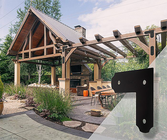 decorative pergola hardware