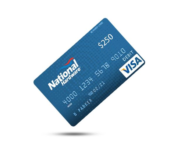 National Hardware Gift Card